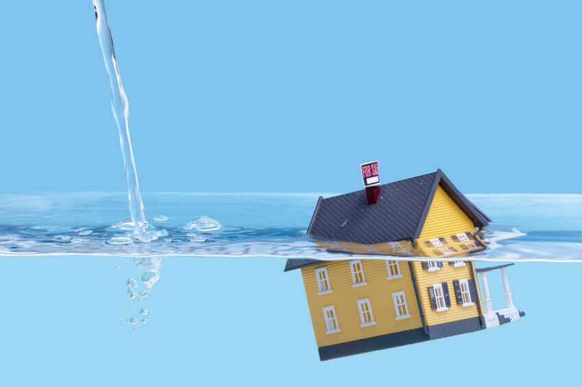 Water Damage Cleanup Company House