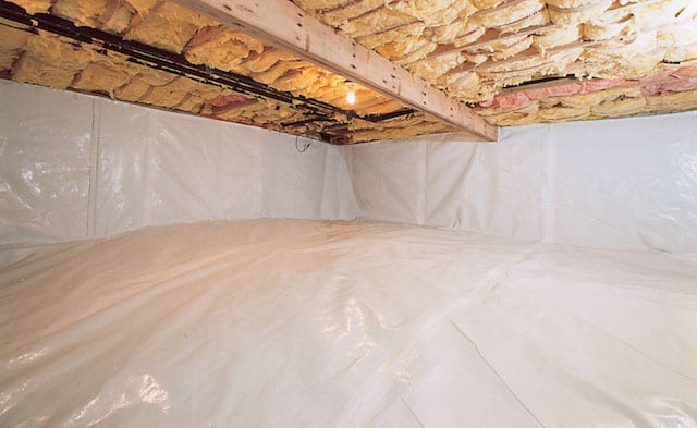 Crawl Space Waterproofing in Valley Hill, NC (1539)