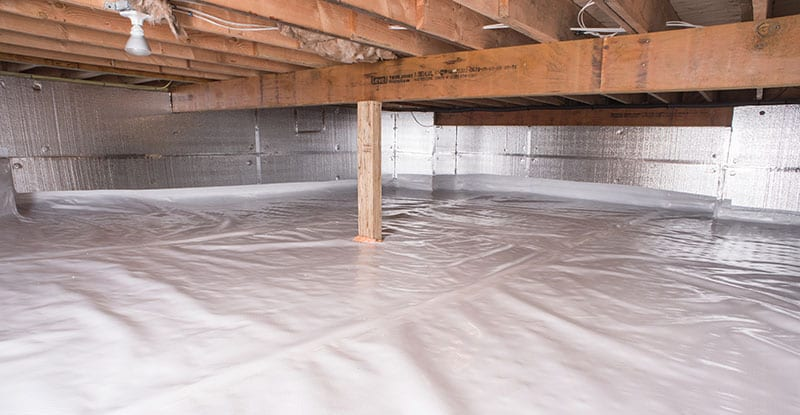 Crawl Space Waterproofing in Mauldin, SC (2774)