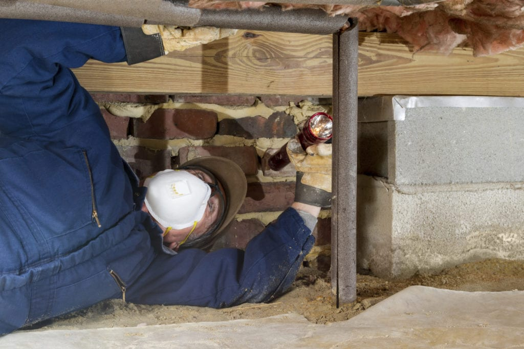 Crawl Space Cleaning in Balfour, NC (9618)